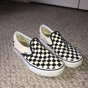 Classic Slip-On Checkerboard Vans